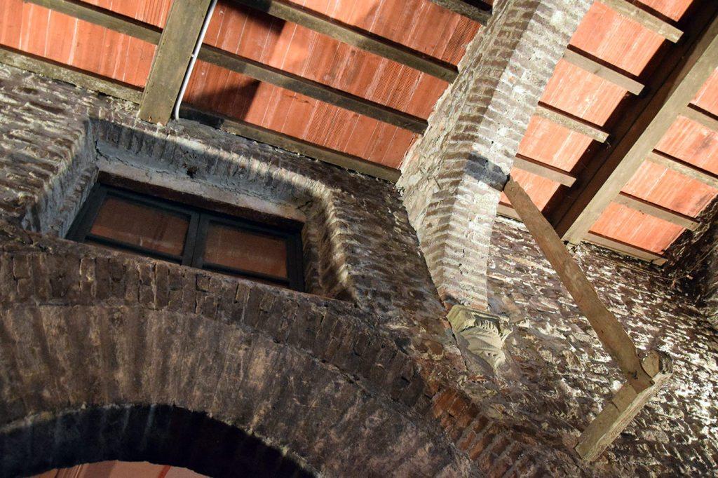 Le antiche volte del Castello di Barberino