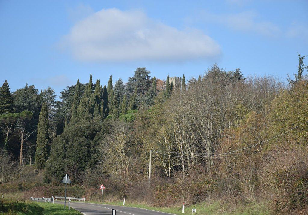 Veduta del Castello, da Barberino