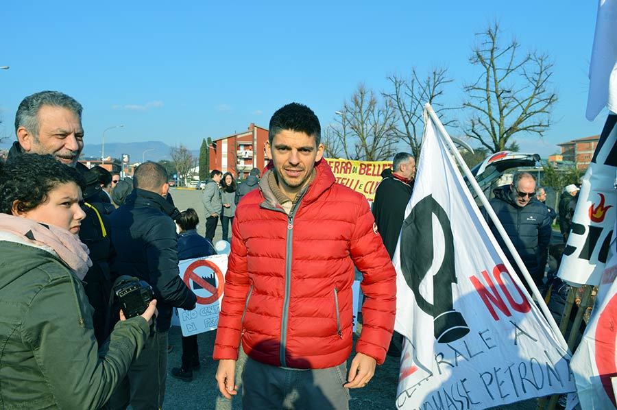 Alessandro Marucelli, Comitato contro la centrale a biomasse di Petrona