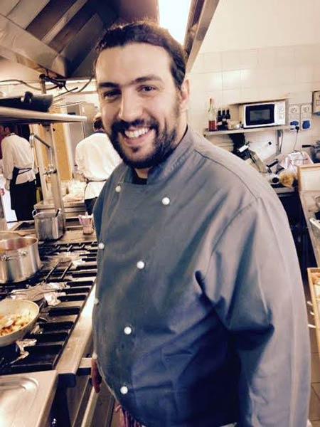 Lo Chef mugellano Cristian Borchi