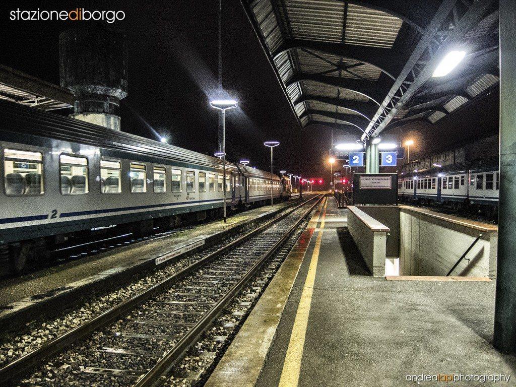 stazione borgo 01 - scritta