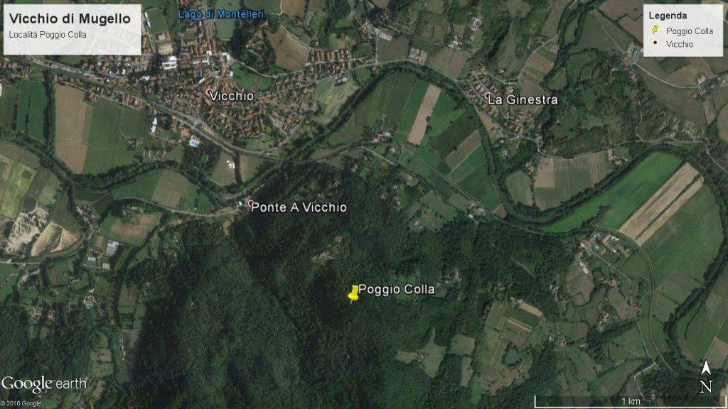Vicchio, Poggio Colla