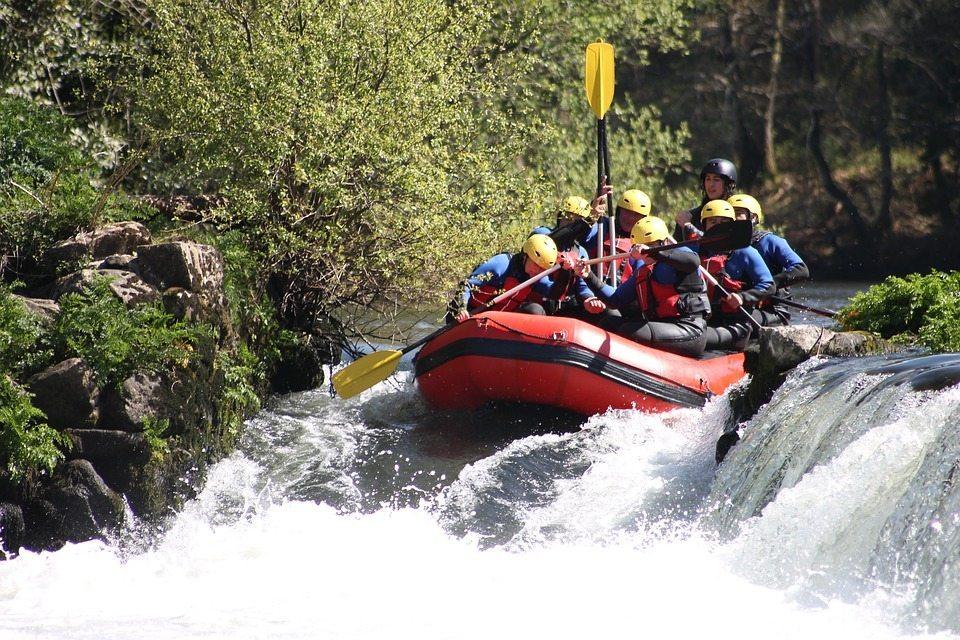 rafting sulla Sieve
