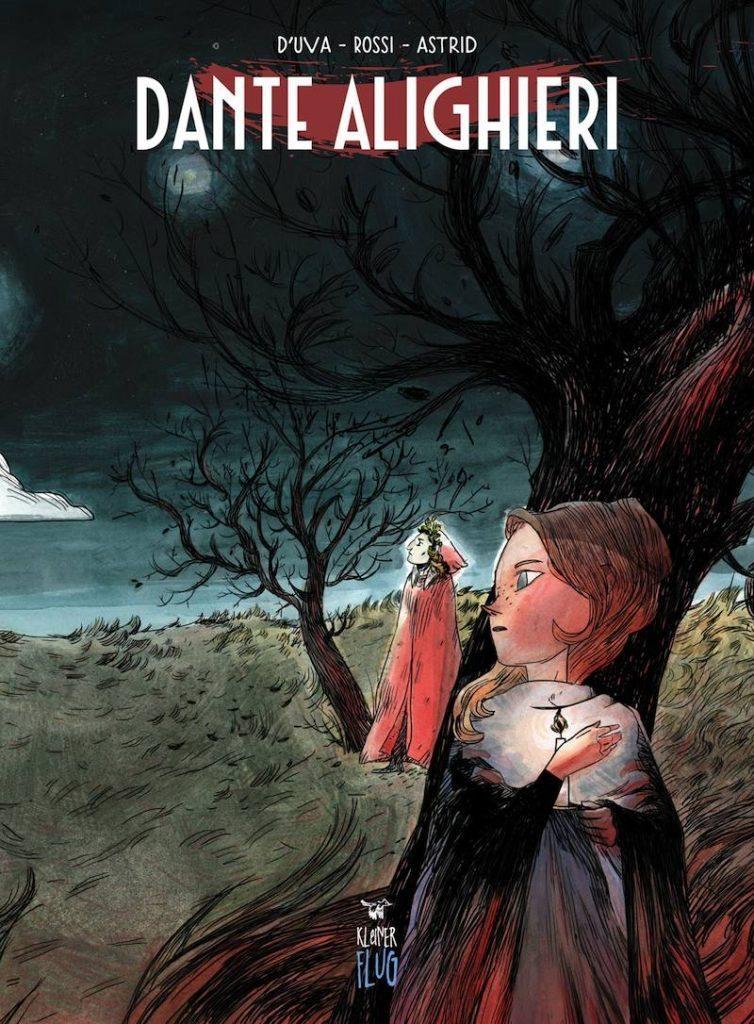 fumetto letterario Dante a fumetti Alessio D'uva Sbang
