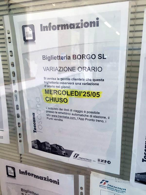 chiusura-biglietteria-stazione-borgo