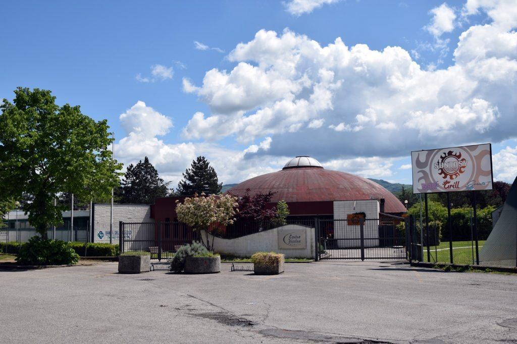 Il centro piscine Mugello (foto Marta Magherini)