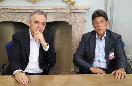 Il Governatore Enrico Rossi e Alfredo Lowenstein