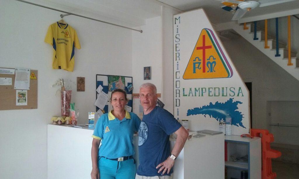 Roberto Grifoni e Caterina Costa