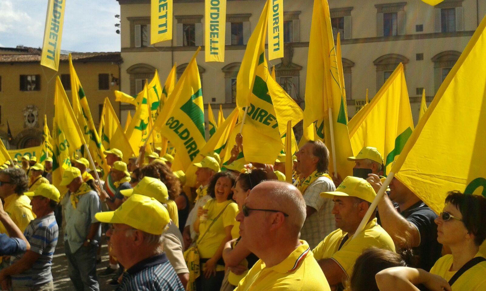 Coldiretti manifestazione Firenze 1