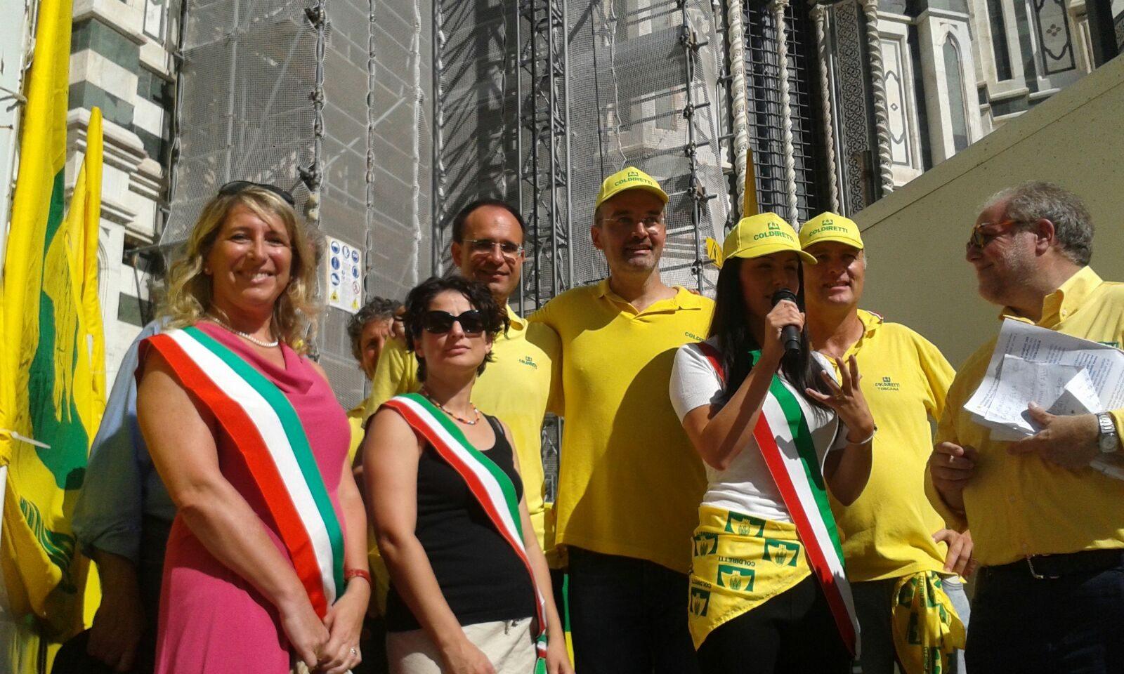 Coldiretti manifestazione Firenze 3