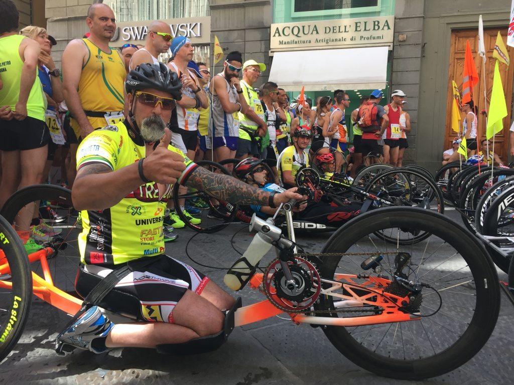 Fabrizio Caselli handbike