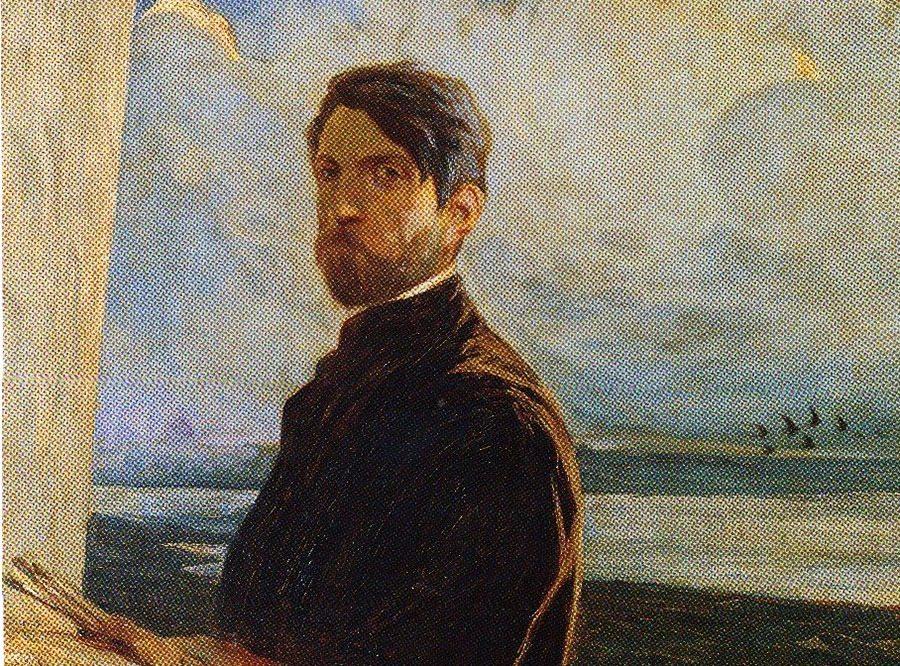 Autoritratto di Galileo Chini
