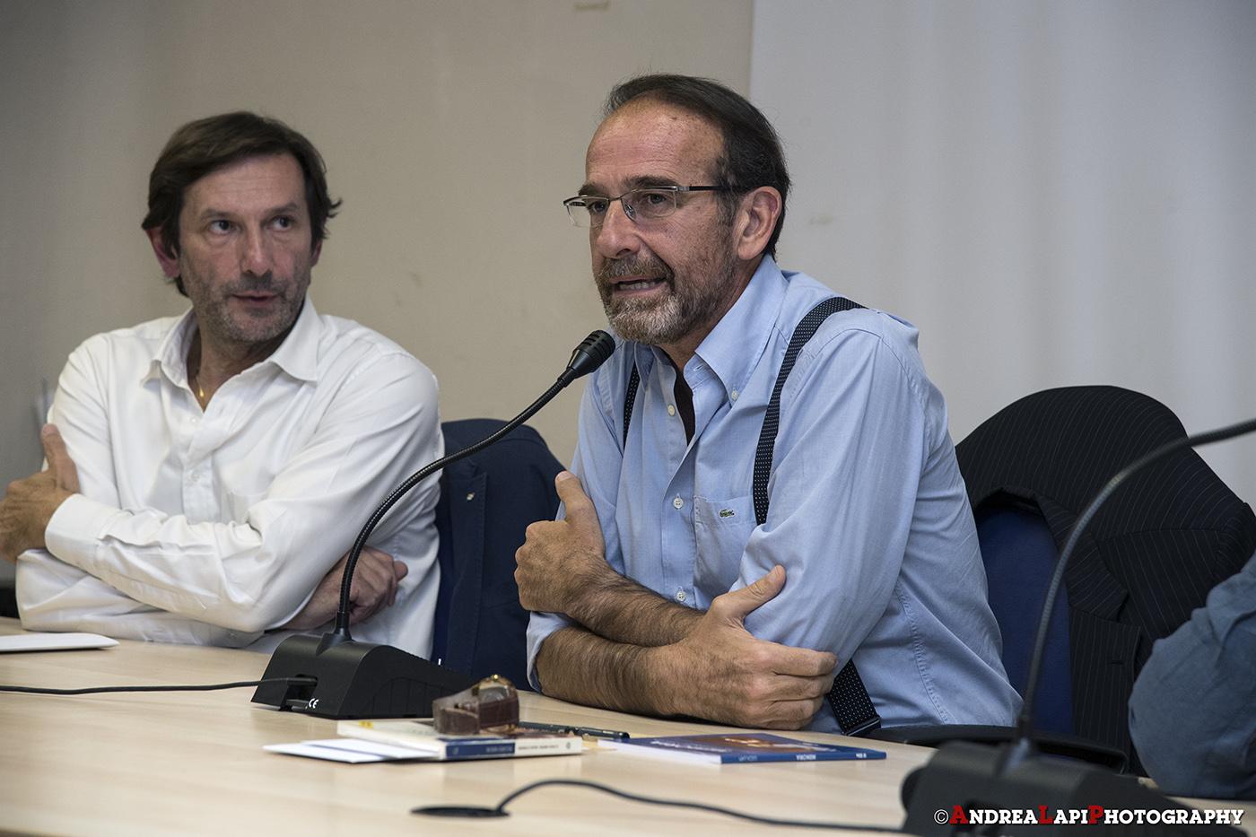 Riccardo Nencini e Massimo Biagioni