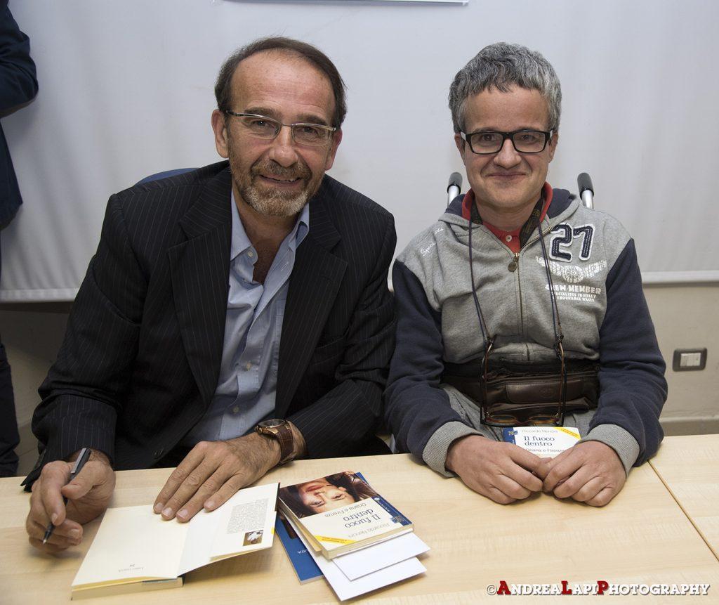 Riccardo Nencini con Luca Lapi