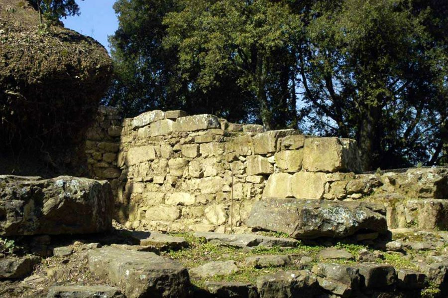 sito etrusco di frascole