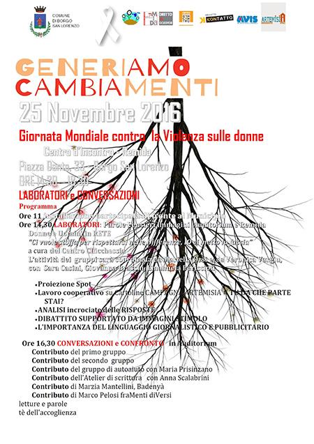 locandina-generiamo-cambiamenti-violenza-donne-2016