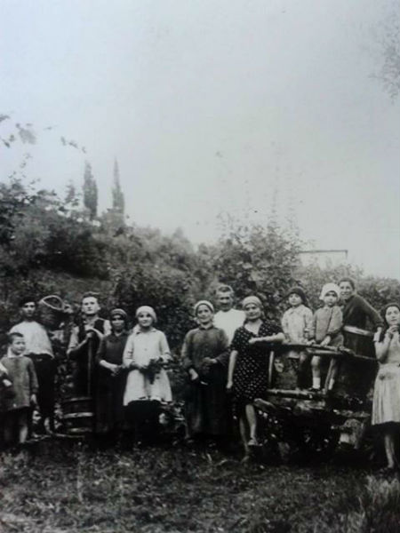 Vendemmia a Frascole del 1929