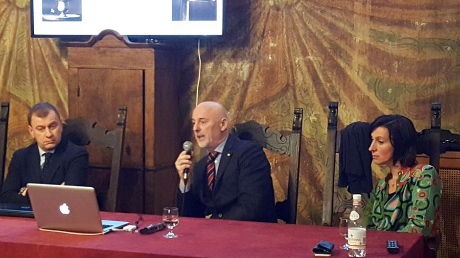 Andrea Palmieri il restauratore dell'orologio