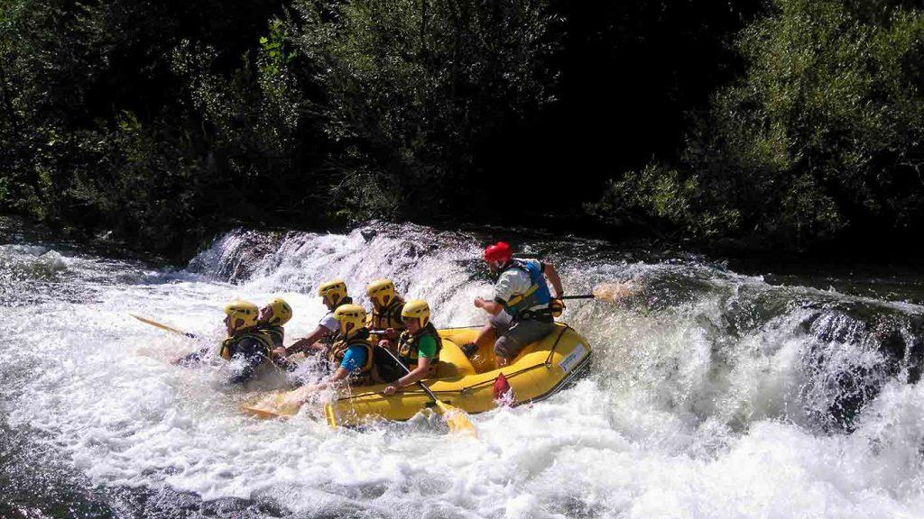 rafting-sieve