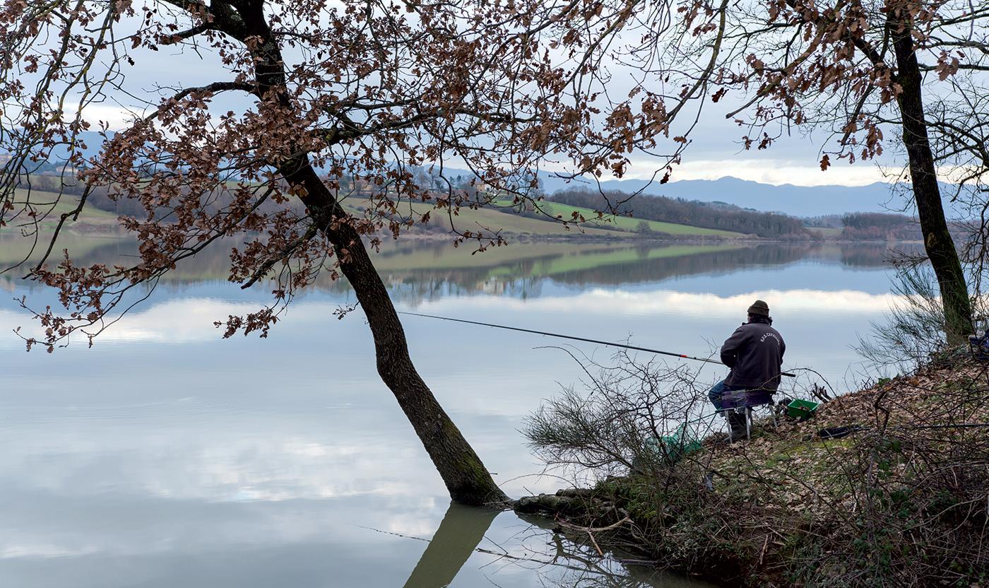 """Foto di Paolo Agresti; dal libro """"Il lago di Bilancino"""" di Gian Piero Luchi"""