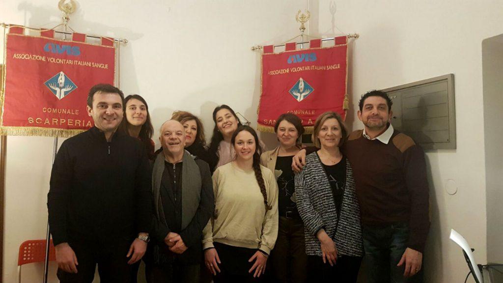 direttivo Avis Scarperia e San Piero 2017