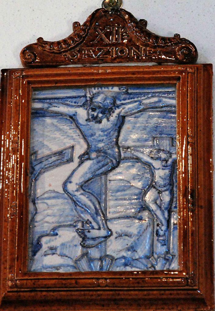 La Via Crucis, di Tito Chini, conservata a Palazzuolo sul Senio