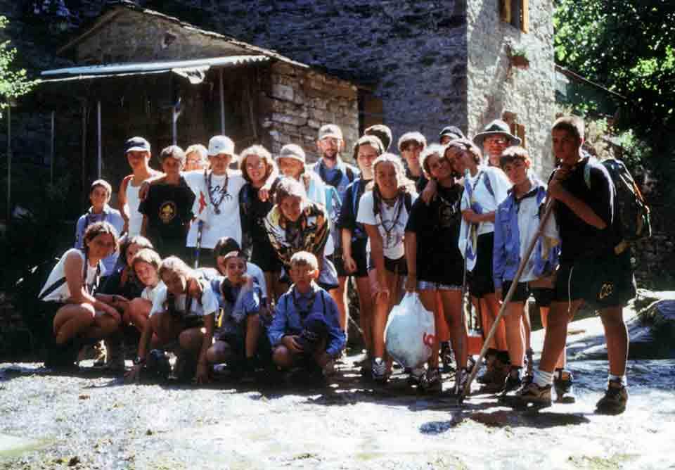 Campo estivo reparto - i diacci 2000