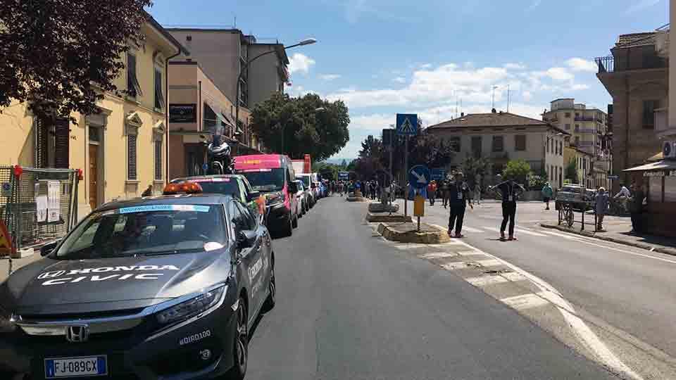 """La Carovana del Giro d'Italia si ferma a Borgo San Lorenzo"""