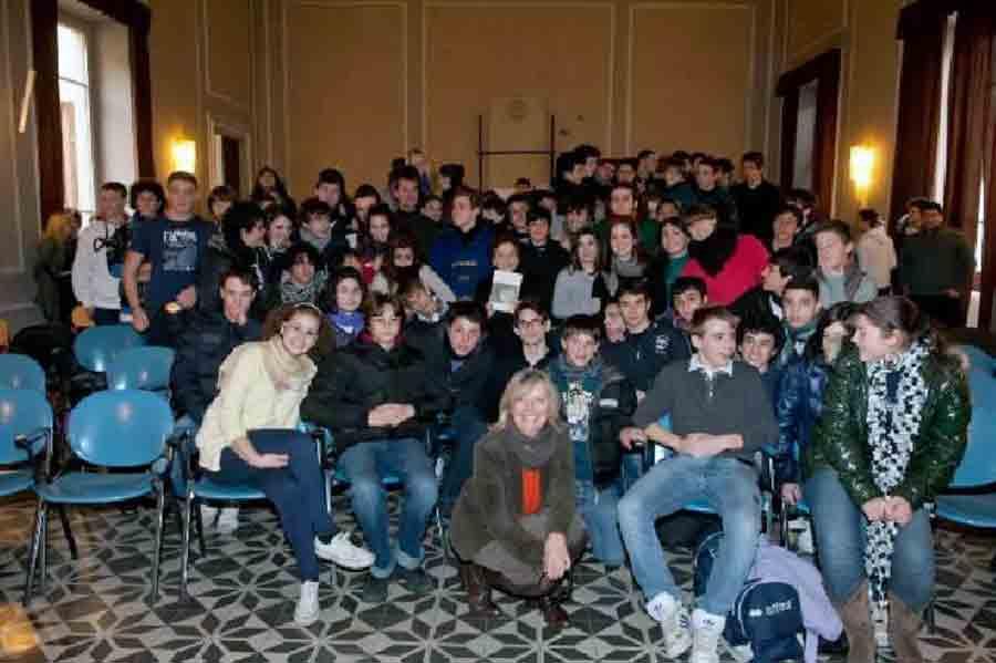 Incontro con alcune classi istituito Salvemini via giusti Firenze. Gennaio 2001