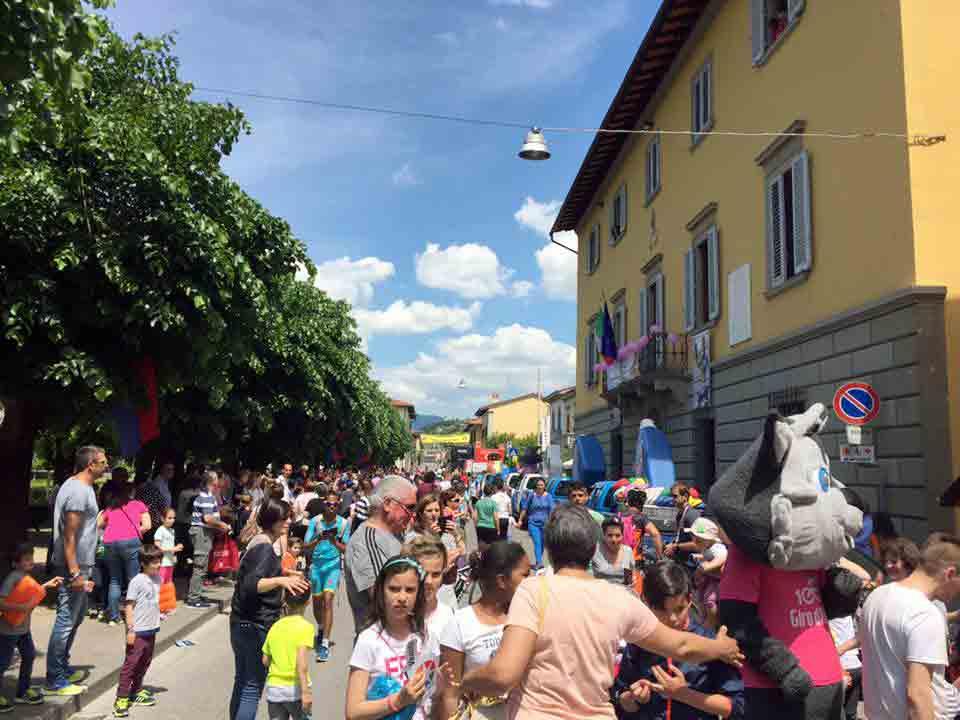 Anche a Barberino si aspetta il passaggio del Giro con una grande festa