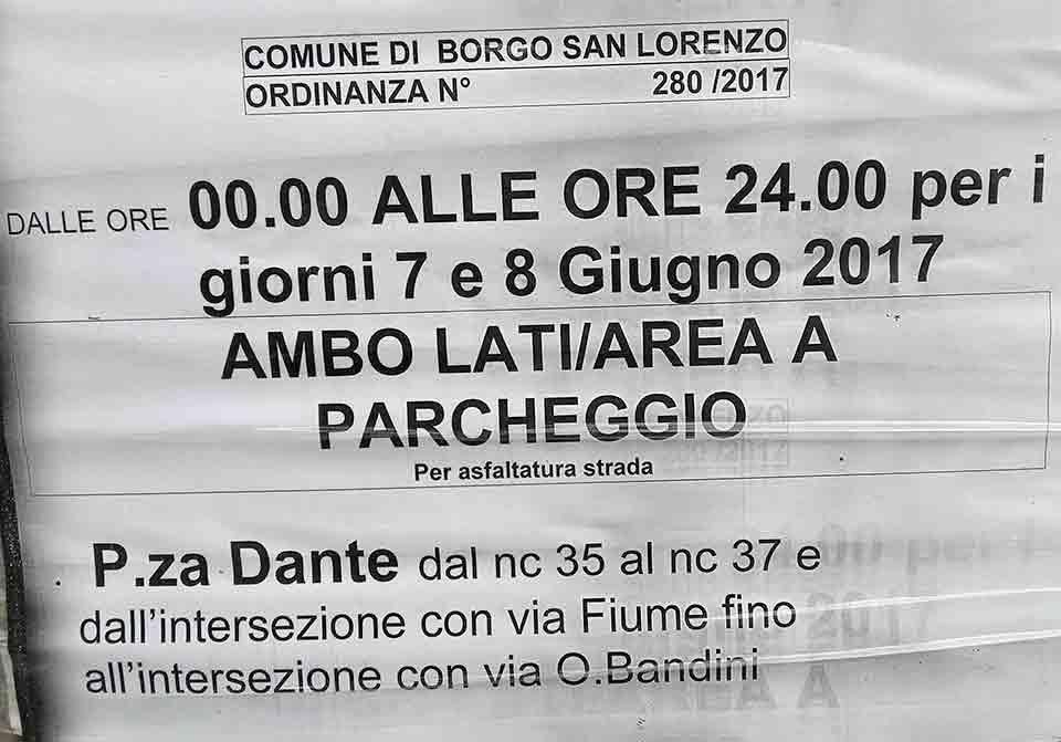 Ordinanza-piazza-Dante-Borgo
