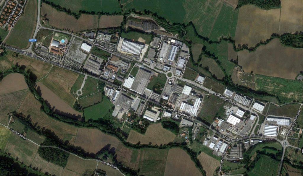 Pianvallico Zona industriale