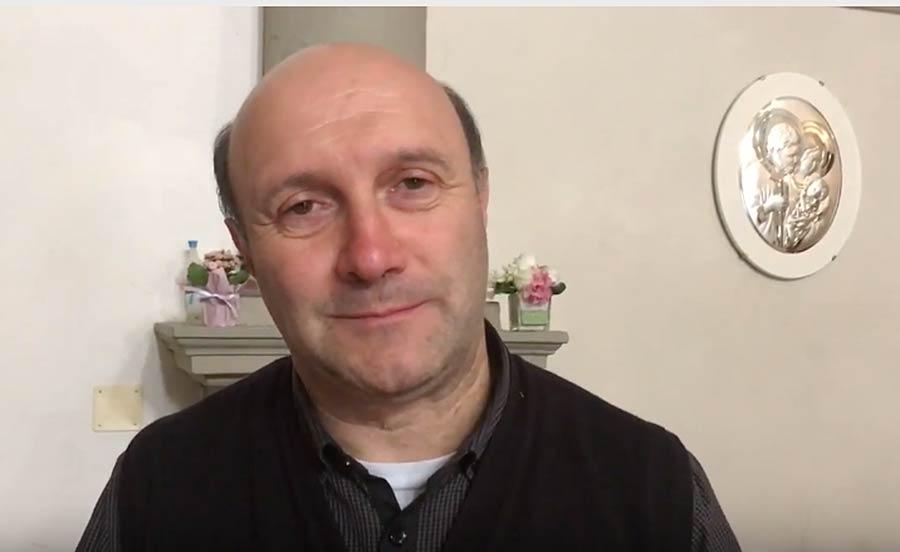 Don Giuliano Landini, pievano di Vicchio