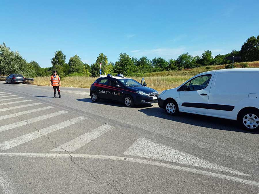 incidente-borgo-carabinieri 18 giugno 2017