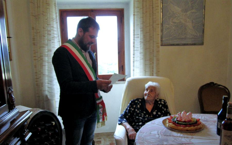 100 anni nonna Albertina Gatti Landi