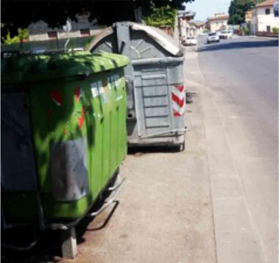 Ingombro-cassonetti-Borgo-San-Lorenzo