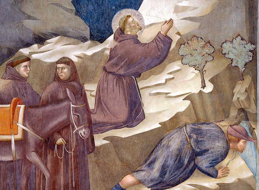 L'opera di Giotto Miracolo della sorgente