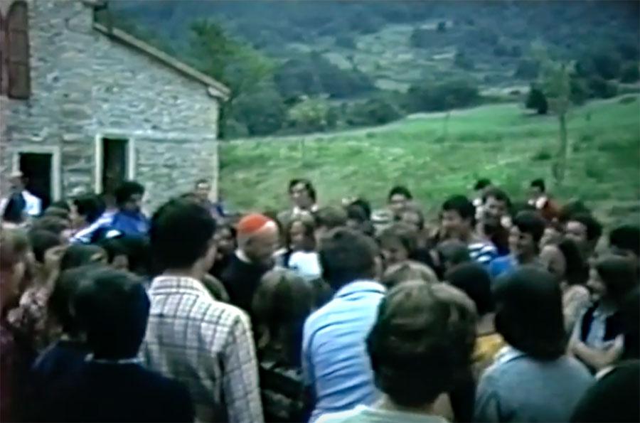 La visita del Cardinale Benelli a Cavallico nel 1976
