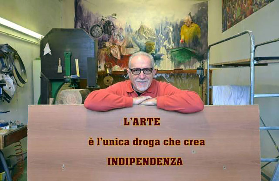 Claudio Cavallini in arte Kevo