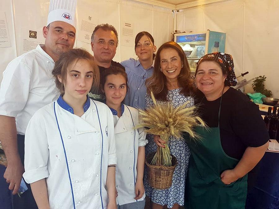 MuVein alla Fam 2017, con Cesara Buonamici