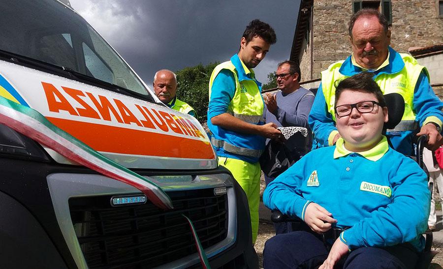 dicomano-nuova-ambulanza-misericordia-settembre-2017-1