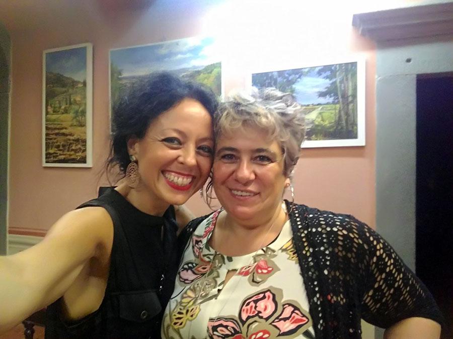 Susi La Rosa e Cristina Falcini