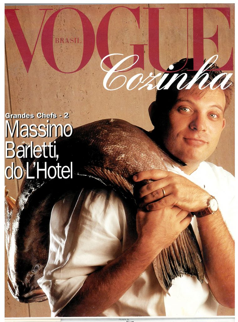 Copertina di Vogue Brazil dedicata a Massimo