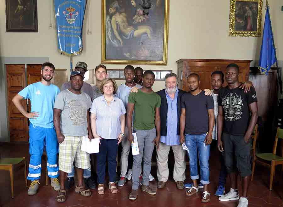 Misericordi-Borgo-San-Lorenzo-corso-rifugiati