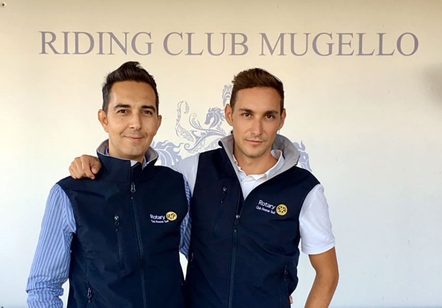 I fratelli Emanuele e Andrea Torelli di Riding Club Mugello