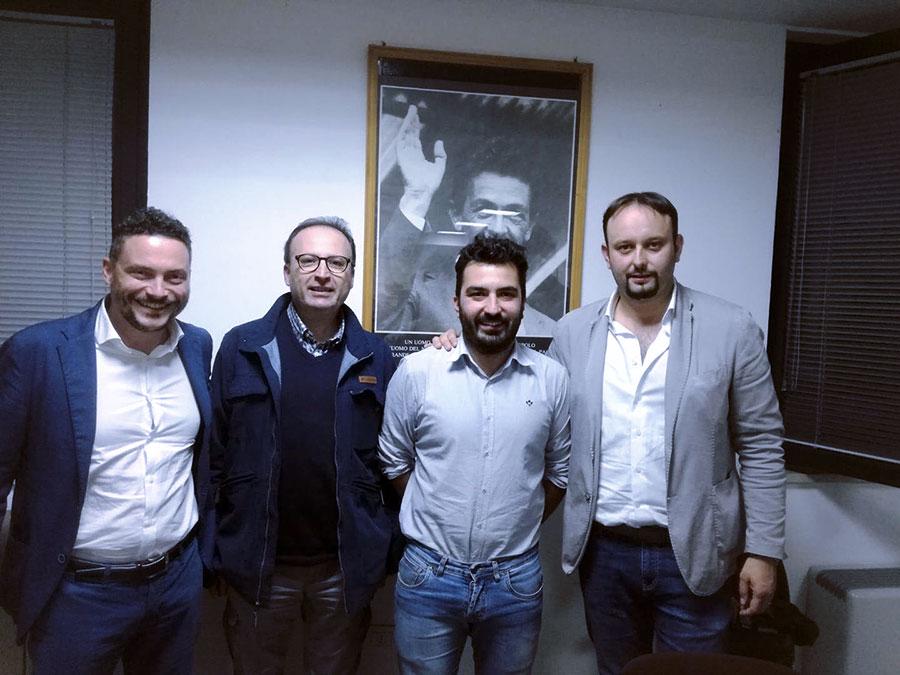 marco-recati-giacomo-bagni-gabriele-timpanelli-paolo-Omoboni-partito-democratico-pd