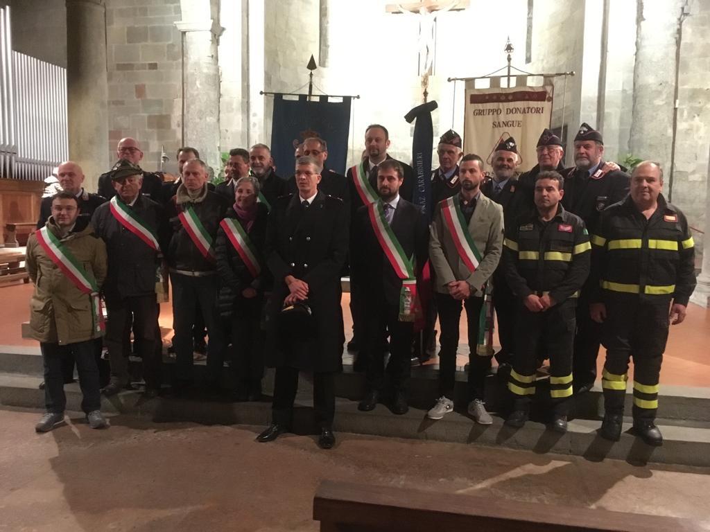 Il Filo Del Mugello Carabinieri Mugellani In Festa Per La Virgo