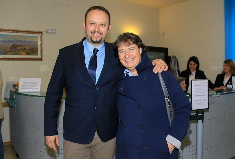 Il sindaco Omoboni con l'assessore regionale alla sanità Stefania Saccardi